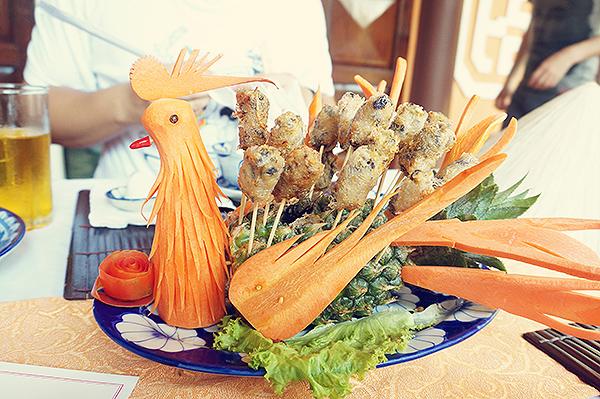 Very creative food!