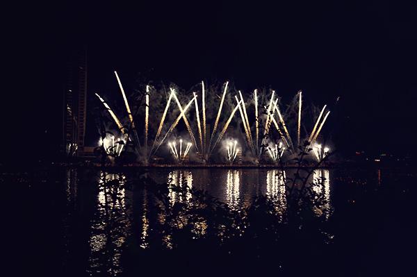 Fireworks festival in Da Nang