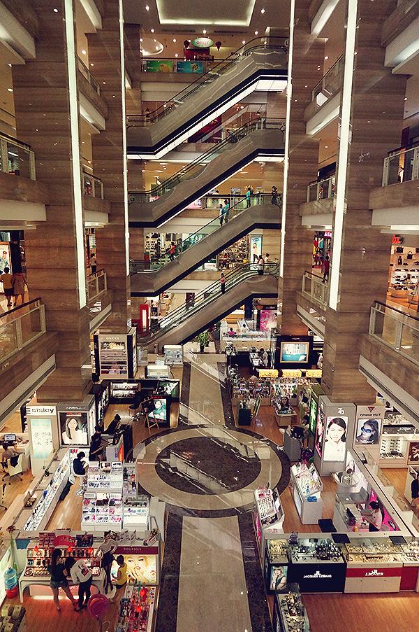 Fancy shopping mall
